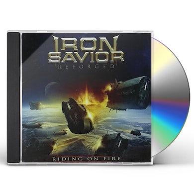 Iron Savior REFORGED: RIDING ON FIRE CD