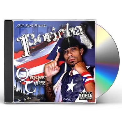 Quique Cruz 1BORICUA CD