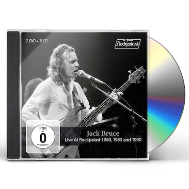 Jack Bruce LIVE AT ROCKPALAST 1980, 1983 AND 1990 CD