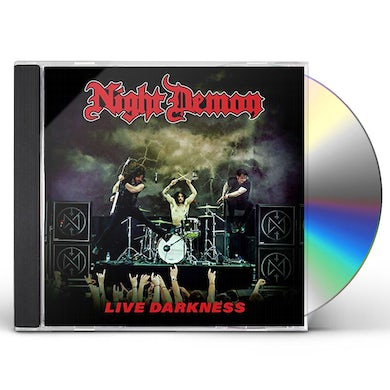 NIGHT DEMON LIVE DARKNESS CD