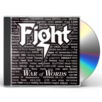 Fight WAR OF WORDS CD