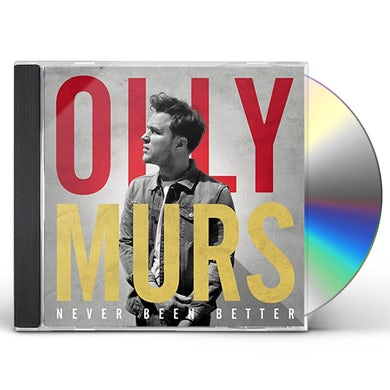 Olly Murs NEVER BEEN BETTER CD