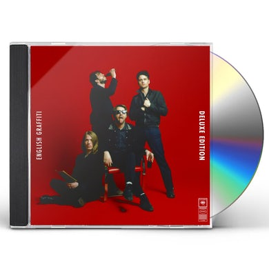 The Vaccines ENGLISH GRAFFITI: DELUXE EDITION CD