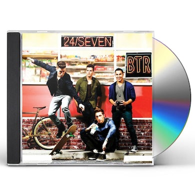Big Time Rush 24/SEVEN CD