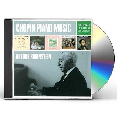 Arthur Rubinstein ORIGINAL ALBUM CLASSICS CD