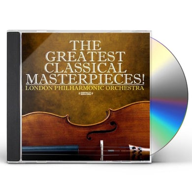 London Philharmonic Orchestra GREATEST CLASSICAL MASTERPIECES! CD