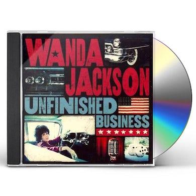 Wanda Jackson UNFINISHED BUSINESS CD