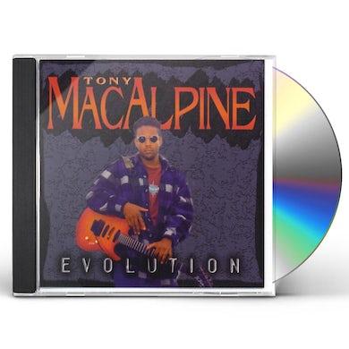 Tony MacAlpine EVOLUTION CD