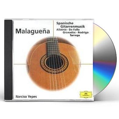 Narciso Yepes MALAGUENA.-GITARRENHITS CD