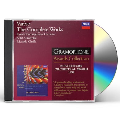 Varese ORCH WRKS (COMP)/CHAILLY DGR2 CD