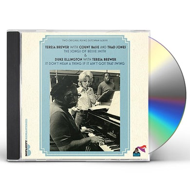 WITH COUNT BASIE & THAD JONES CD