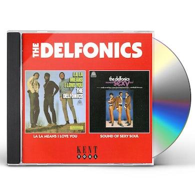 Delfonics LA LA MEANS I LOVE YOU / SOUND OF SEXY SOUL CD