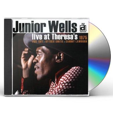 Junior Wells LIVE AT THERESA'S 1975 CD