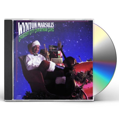 Wynton Marsalis CRESCENT CITY CHRISTMAS CARD CD