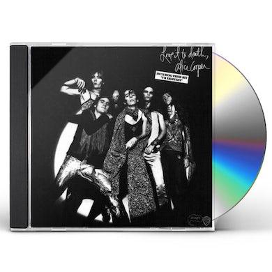 Alice Cooper LOVE IT TO DEATH CD