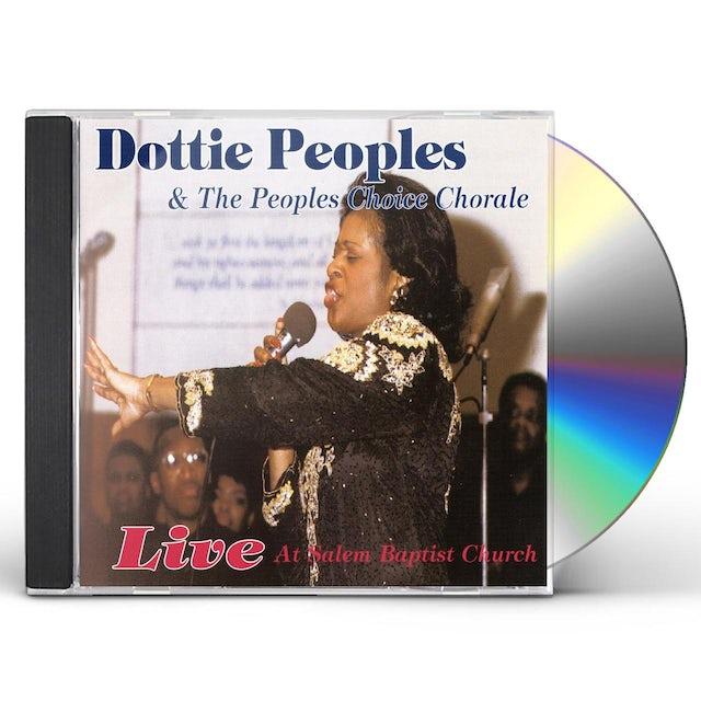 Dottie Peoples LIVE CD