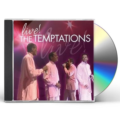 The Temptations LIVE CD