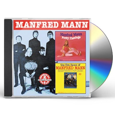 PRETTY FLAMINGO / FIVE FACES OF MANFRED MANN CD