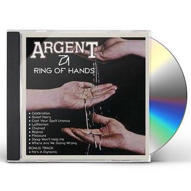 Argent RING OF HANDS CD
