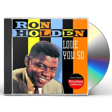 Ron Holden LOVE YOU SO CD