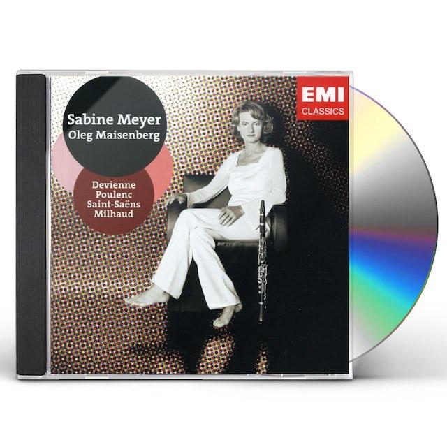 Sabine Meyer FRENCH CHAMBER MUSIC CD
