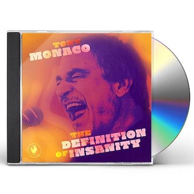 Tony Monaco DEFINITION OF INSANITY CD