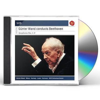 GUNTER WAND CONDUCTS Ludwig van Beethoven 1-9 CD