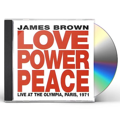 James Brown LOVE. POWER. PEACE LIVE CD