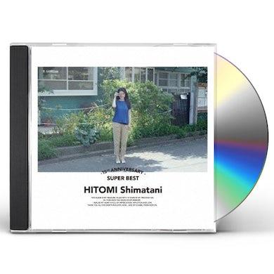Hitomi Shimatani 15TH ANNIVERSARY SUPER BEST CD