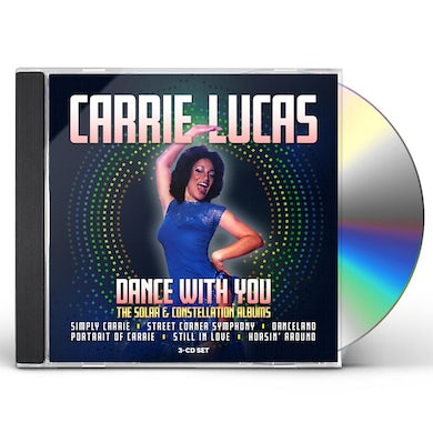 Carrie Lucas DANCE WITH ME: THE SOLAR & CONSTELLATION ALBUMS CD