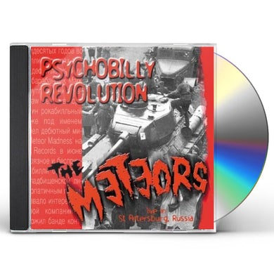 The Meteors PSYCHOBILLY REVOLUTION CD