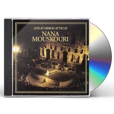 Nana Mouskouri LIVE AT HEROD ATTICUS CD