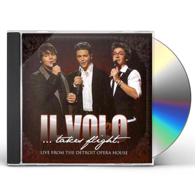 IL VOLO: TAKES FLIGHT - LIVE FROM DETROIT OPERA CD