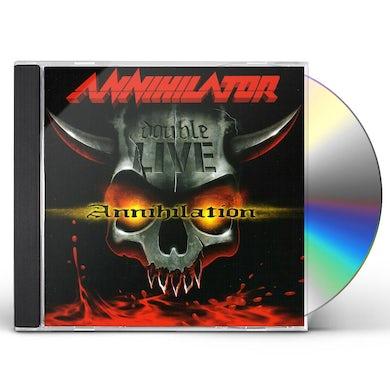 Annihilator DOUBLE LIVE ANNIHILATION CD
