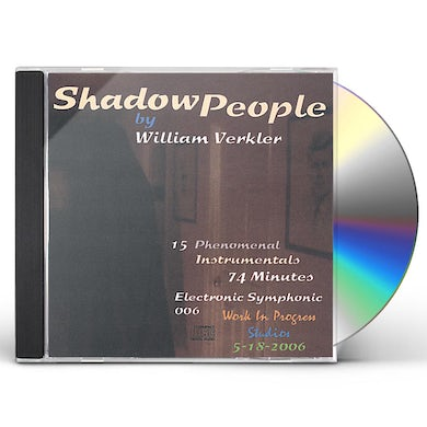 William Verkler SHADOW PEOPLE CD
