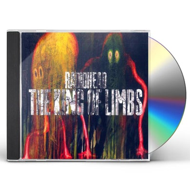Radiohead KING OF LIMBS CD