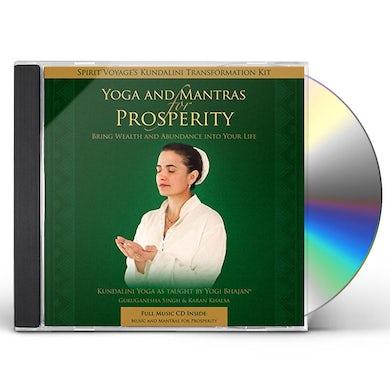 Spirit Voyage Artists YOGA & MANTRAS FOR PROSPERITY CD