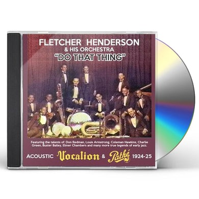 Fletcher Henderson DO THAT THING CD
