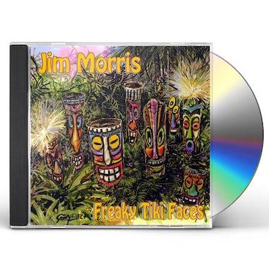 Jim Morris FREAKY TIKI FACES CD