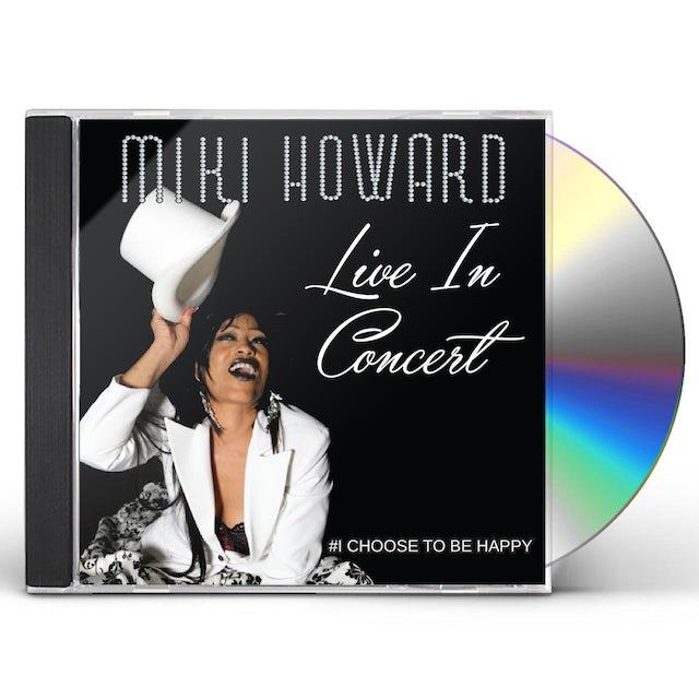 Miki Howard LIVE IN CONCERT CD