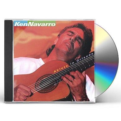 Ken Navarro ABLAZE IN ORLANDO CD