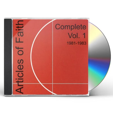 Articles Of Faith COMPLETE 1 1981-1984 CD