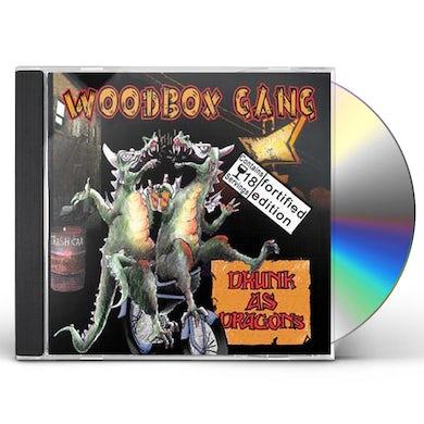Woodbox Gang DRUNK AS DRAGONS CD