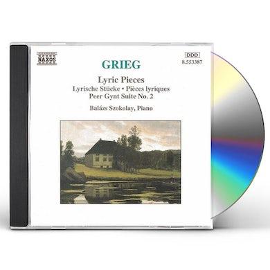 Grieg LYRIC PIECES & PEER GYNT SUITE NO. 2 CD