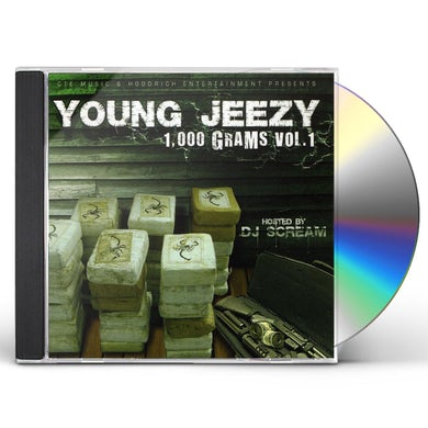 Jeezy 1000 GRAMS CD