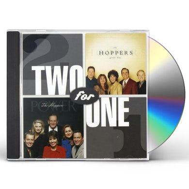 Hoppers TWO FOR ONE: GREAT DAY / POWER CD