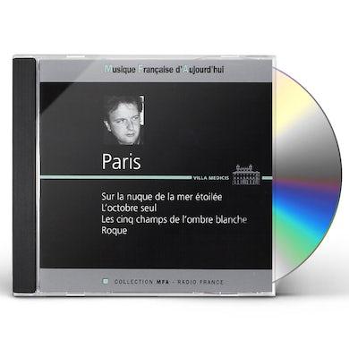 Paris SUR LA NUQUE DE LA MER ETOILEE CD