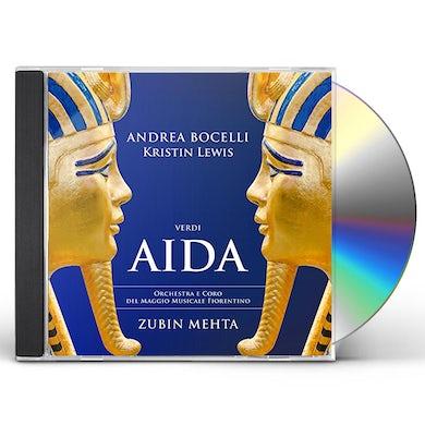 Andrea Bocelli AIDA CD