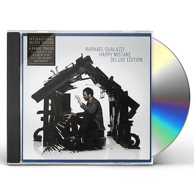 Raphael Gualazzi HAPPY MISTAKE: DELUXE EDITION CD