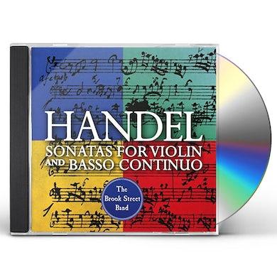 Handel SONATAS FOR VIOLIN & BASSO CONTINUO CD